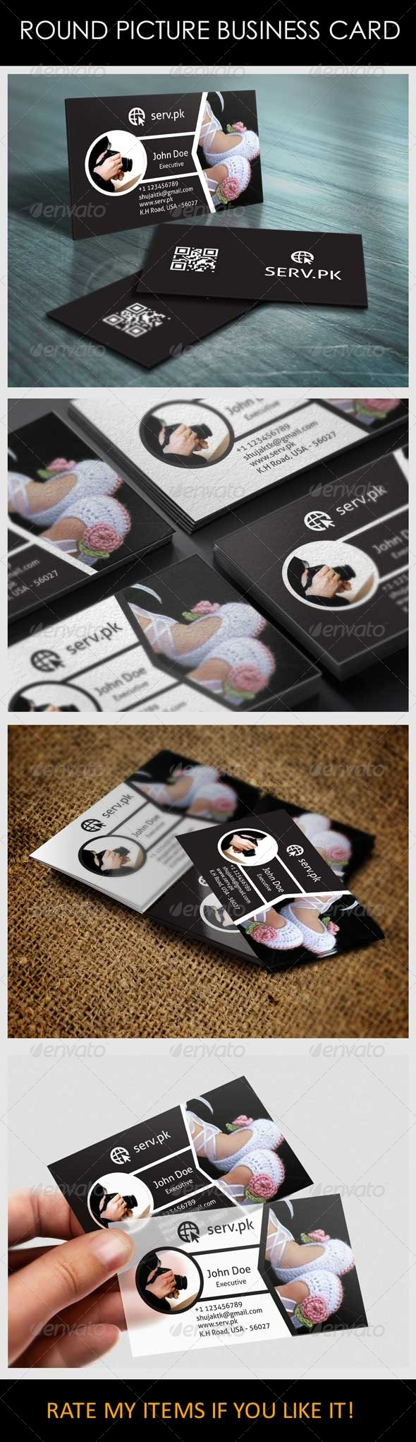 GraphicRiver New Fashion Model Business Card 6080774
