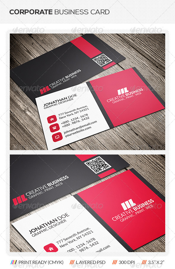 GraphicRiver Corporate Business Card 6132416