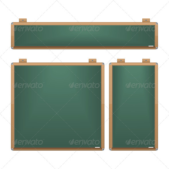 GraphicRiver Chalkboard Set 6132427