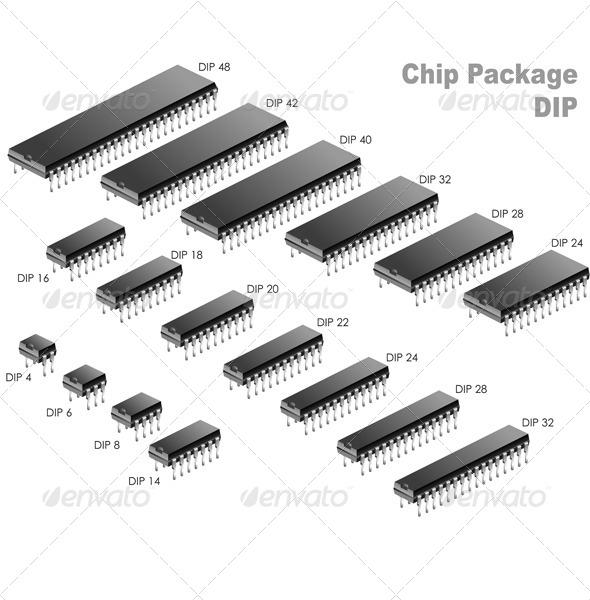 Chip Package DIP