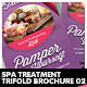 Beauty & Spa Treatment Trifold Brochure