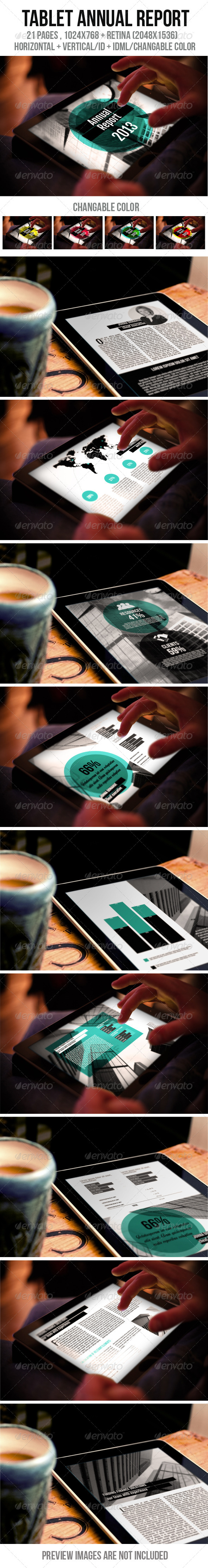 GraphicRiver Tablet Annual Report 6132766
