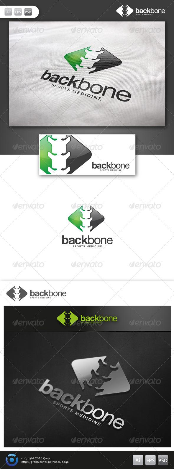 GraphicRiver Back Bone Logo 6132768
