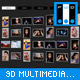 Multimedia Thumb Wall 3D