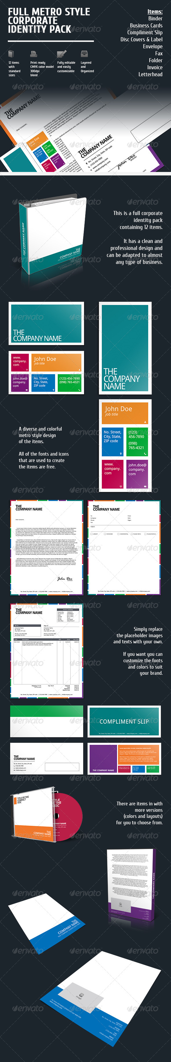 GraphicRiver Full Corporate Identity Pack 6091899