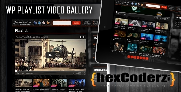CodeCanyon WP Playlist Video Gallery 6102274