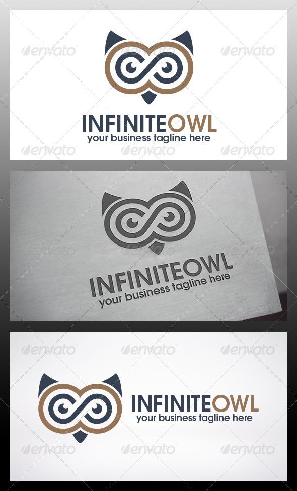 GraphicRiver Infinite Owl Logo Template 6133008