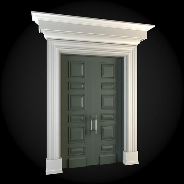 Door 034 - 3DOcean Item for Sale