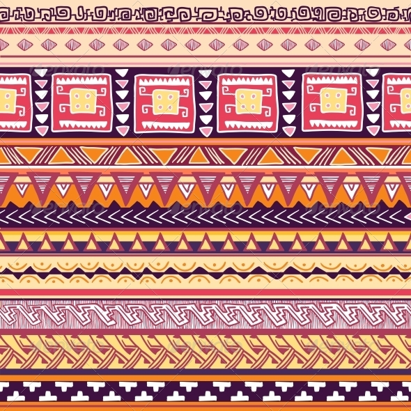GraphicRiver Tribal Pattern 6133235