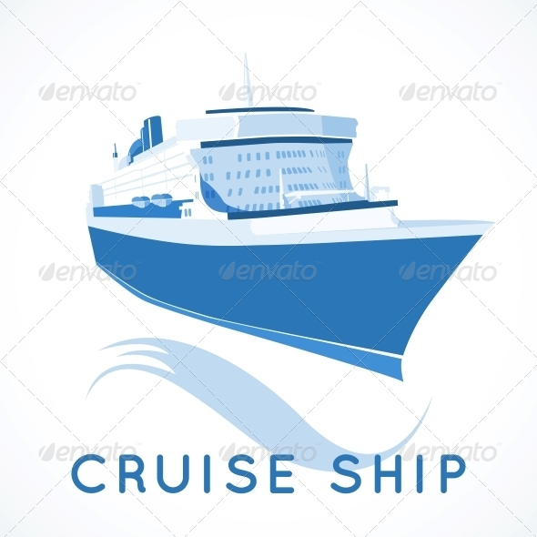 GraphicRiver Cruise Ship Label 6133236