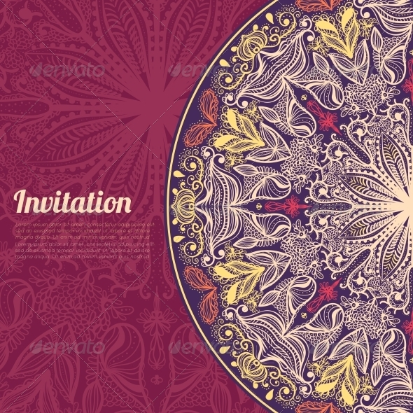 GraphicRiver Invitation Card 6133268