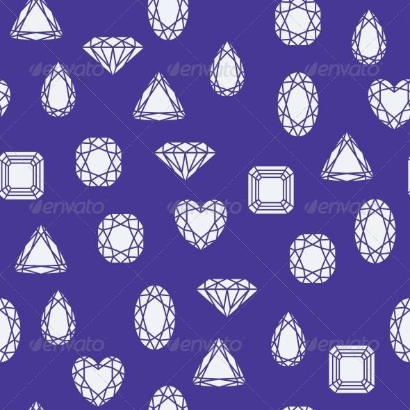 GraphicRiver Diamonds Pattern 6133281