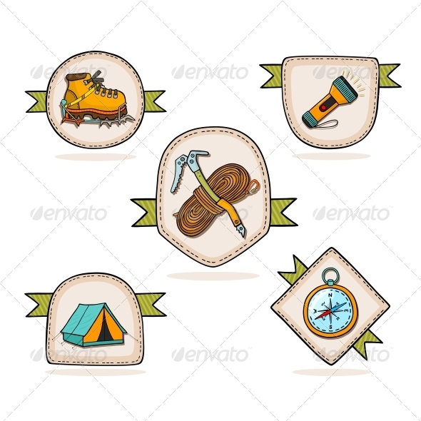 GraphicRiver Mountain Hiking 6133318