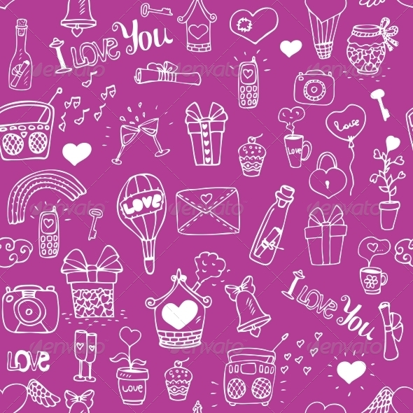 GraphicRiver Love Pattern 6133329