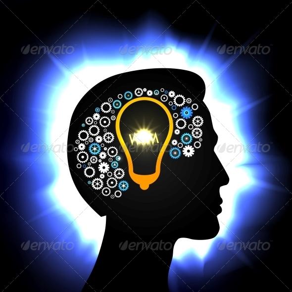 GraphicRiver Idea in Head 6133389