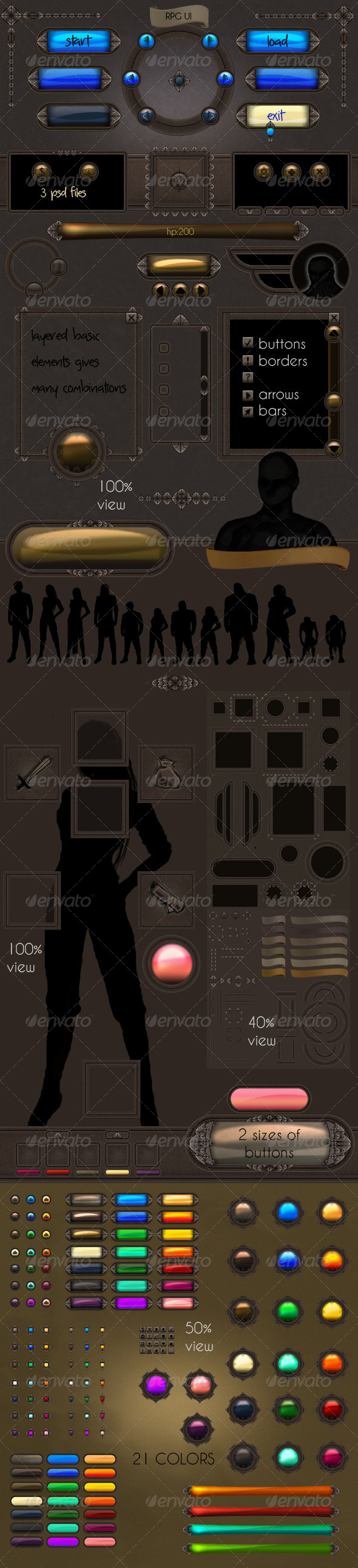 GraphicRiver RPG User Interface 6094498