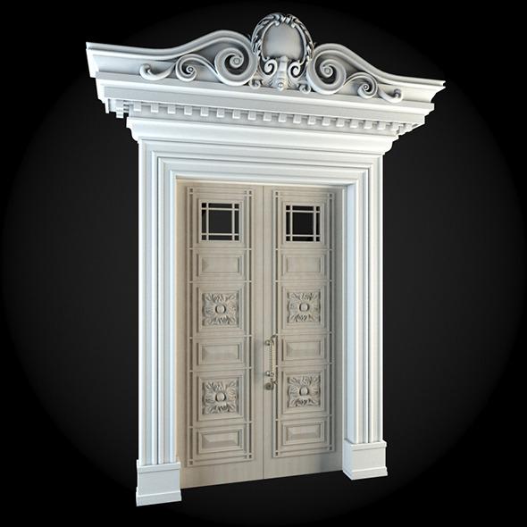 Door 036 - 3DOcean Item for Sale