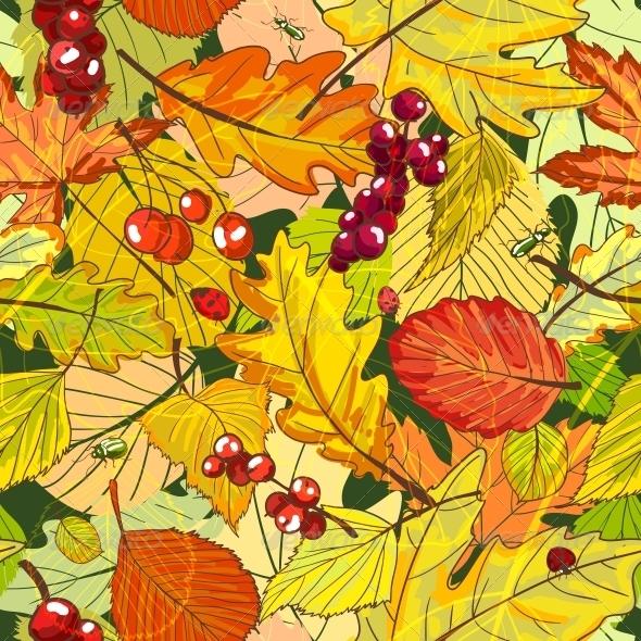 GraphicRiver Autumn Background 6133440