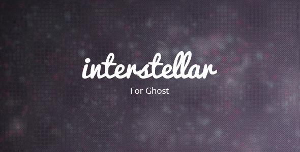 Interstellar - Ghost Theme