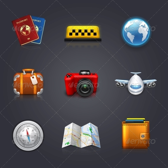 GraphicRiver Travel Set 6134018