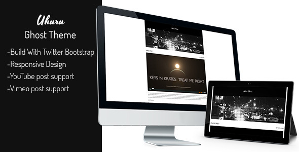 ThemeForest Uhuru Ghost Theme 5908857