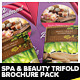 Spa Centre, Beauty & Wellness Brochure Pack