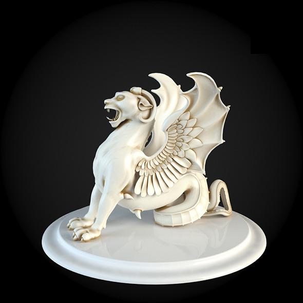 013_Sculpture - 3DOcean Item for Sale