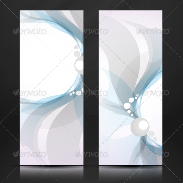 GraphicRiver Abstract Blue and Gray Banner 6134607