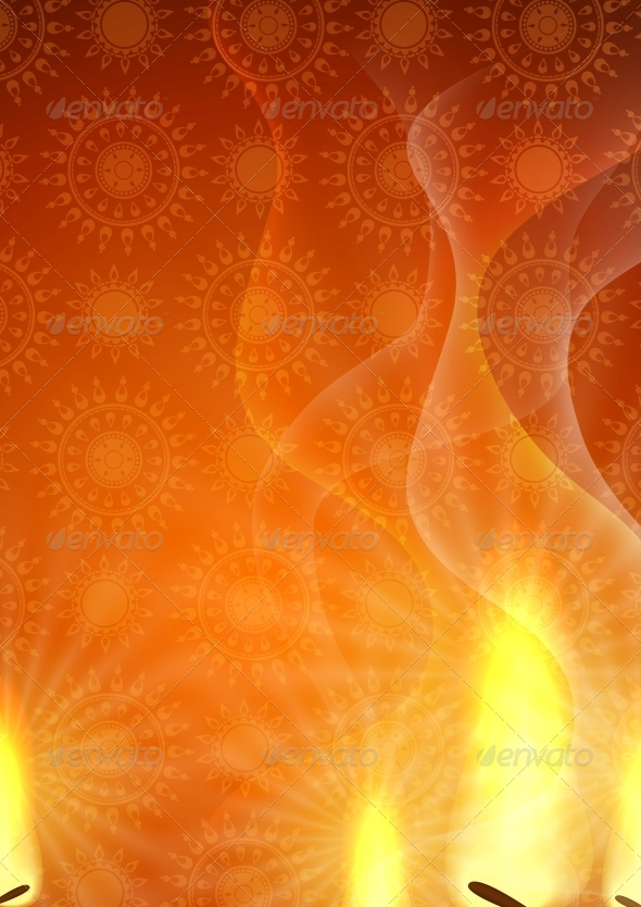 GraphicRiver Happy Diwali Background 6134756