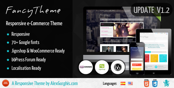 FancyTheme - e-Commerce WordPress Theme