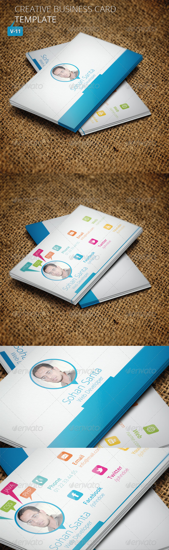 Creative Business Card V 11
