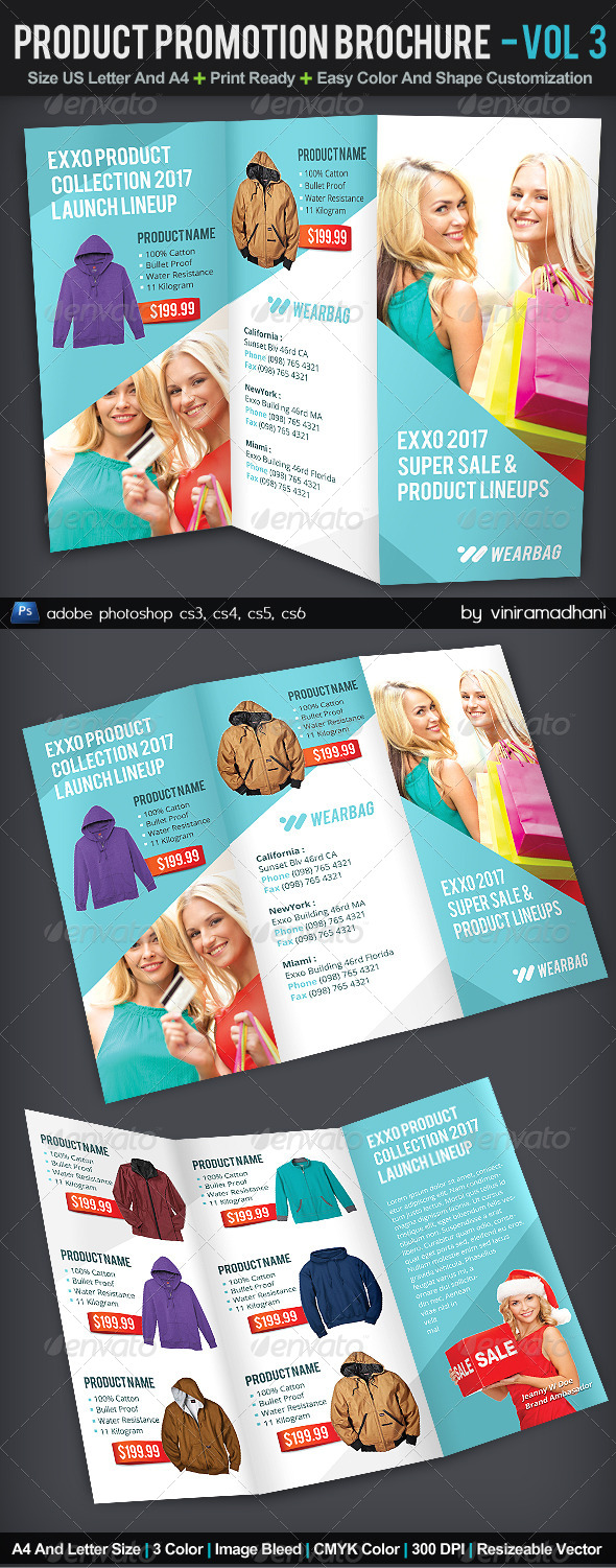 GraphicRiver Product Promotion TriFold Brochure Volume 3 6133740