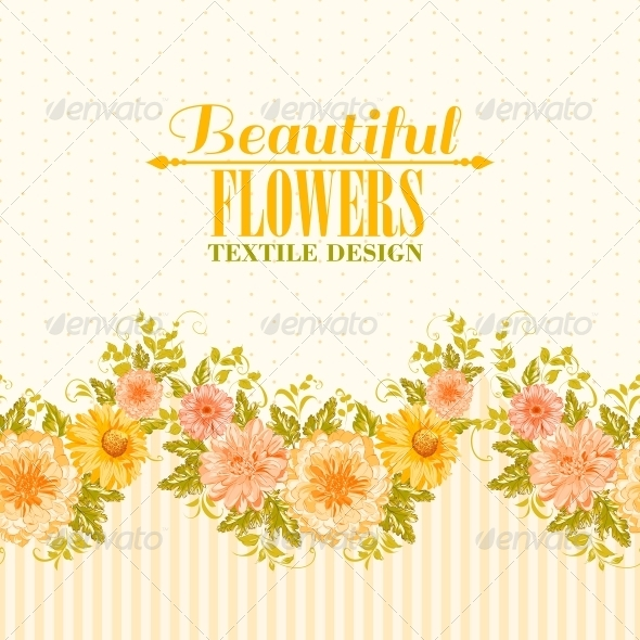 GraphicRiver Invitation Card with Flowers 6134966