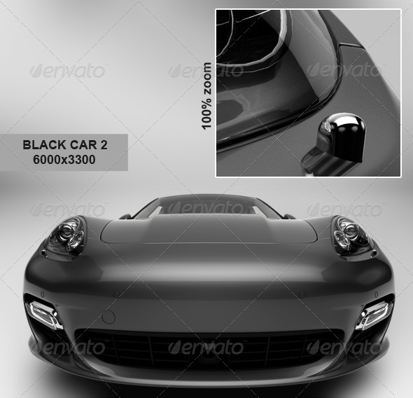 GraphicRiver Black Car 3 6135038