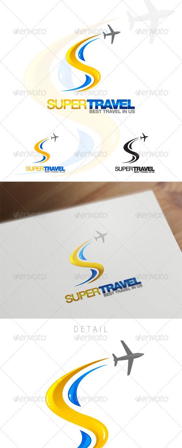 GraphicRiver S Letter Travel & Hospitality Logo 6135180
