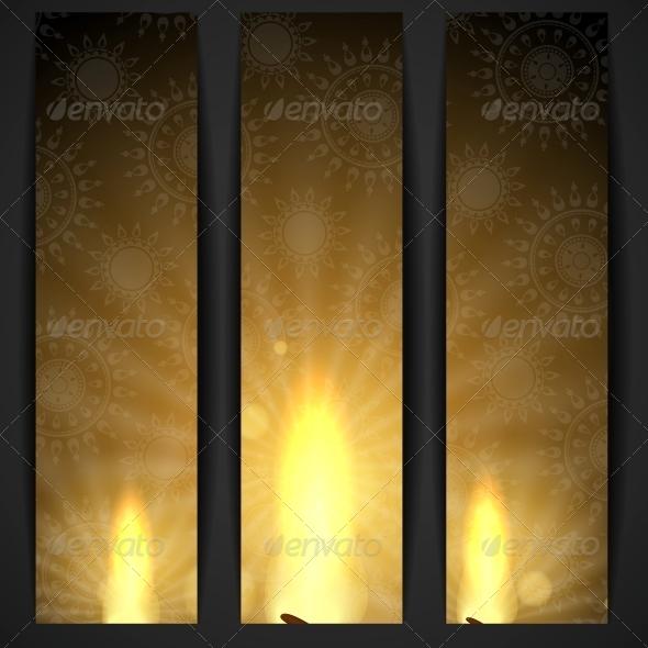 GraphicRiver Happy Diwali Background 6135181