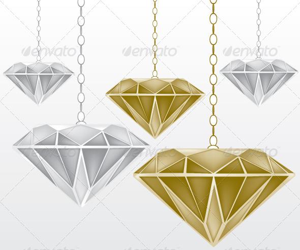 Diamonds Illustration