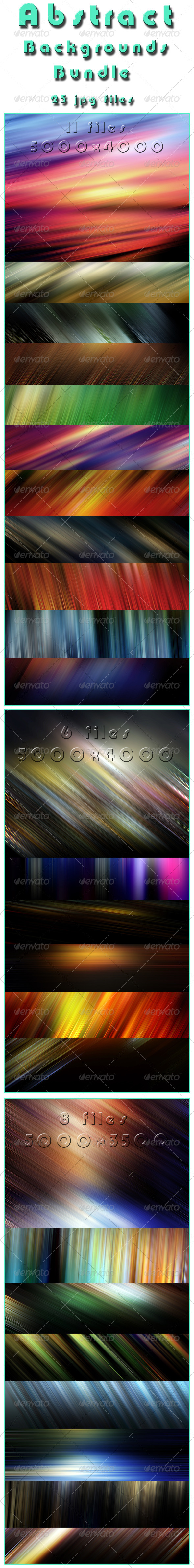GraphicRiver Abstract Backgrounds Bundle 6135302