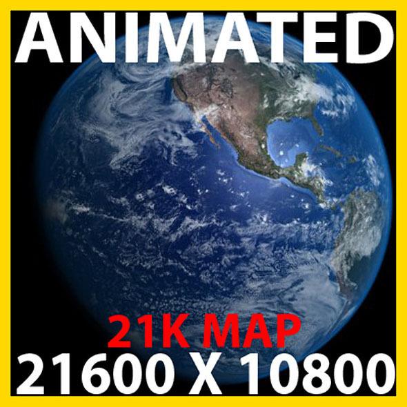 3DOcean Photoreal Earth Model 6135322