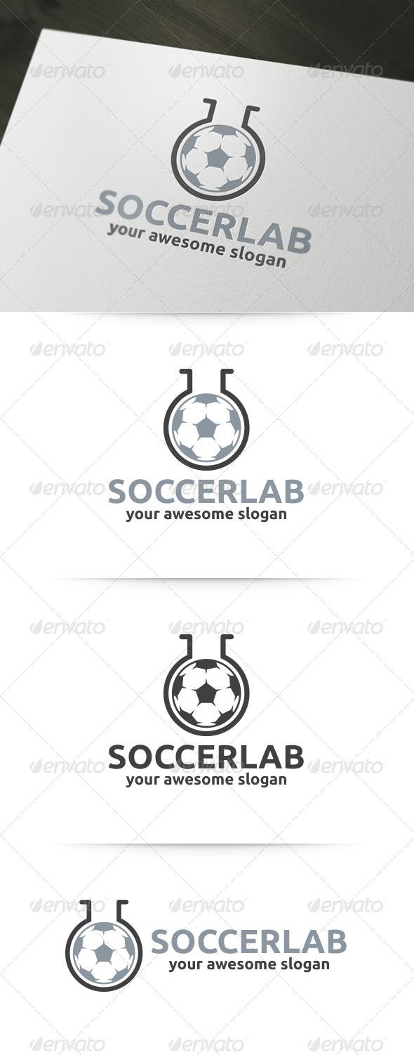 GraphicRiver Soccer Lab Logo 6135334