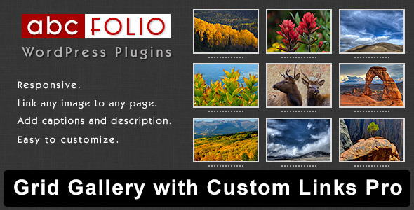 CodeCanyon Grid Gallery with Custom Links Pro 6068348