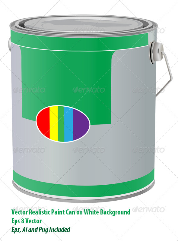 GraphicRiver Paint Can 6135629