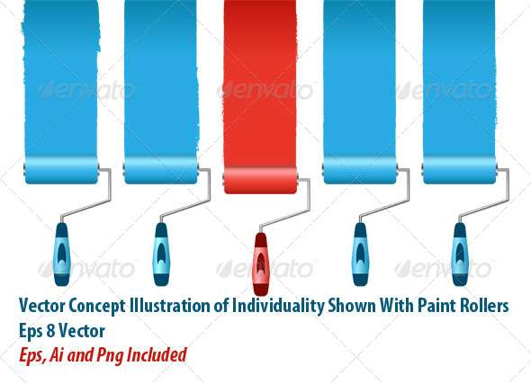 GraphicRiver Paint Rollers 6135646