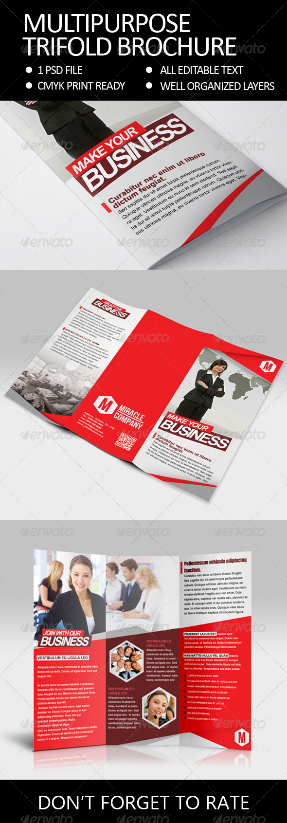 GraphicRiver Multipurpose Trifold Brochure 6099275