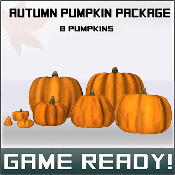 3DOcean Pumpkin Package 6136300