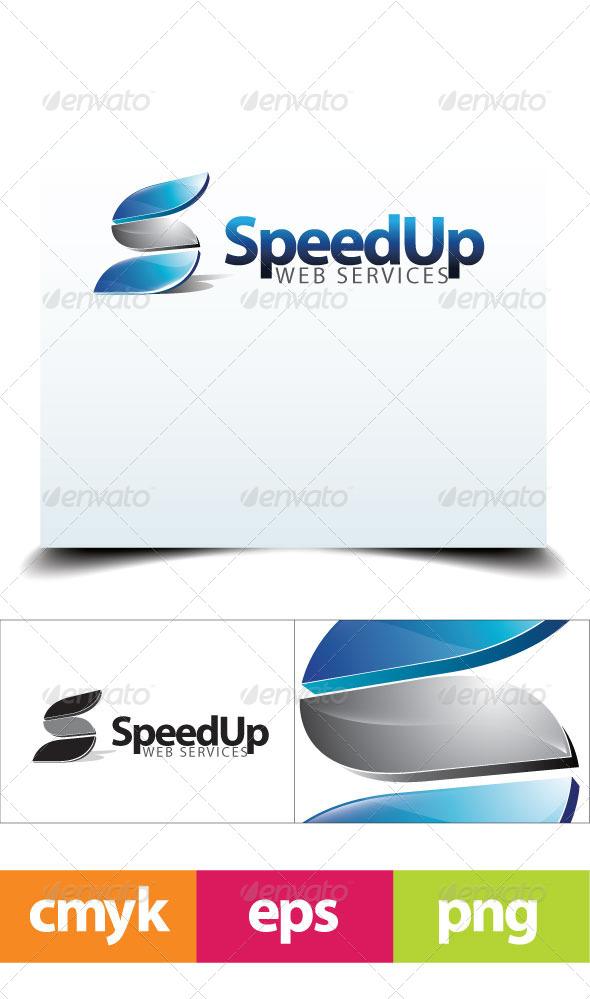 GraphicRiver SpeedUp Logo Template 6134613