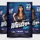 Winter Night Party Flyer/Poster - 04 - GraphicRiver Item for Sale