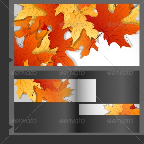 GraphicRiver Brochure Template Design of Leaves 6138103
