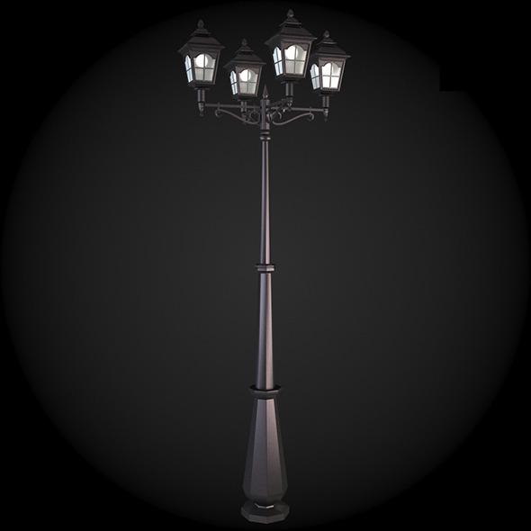 3DOcean 018 Street Light 6138316