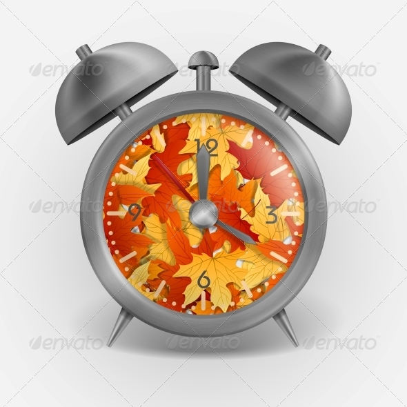 GraphicRiver Metal Classic Style Alarm Clock 6138494